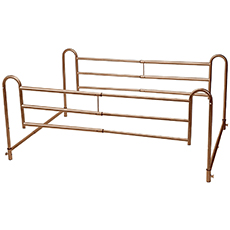 drive medical home bed rails