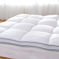 duck and goose thick plush mattress topper