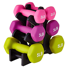 neoprene dumbbell weights