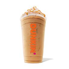 dunkin pumpkin swirl frozen coffee