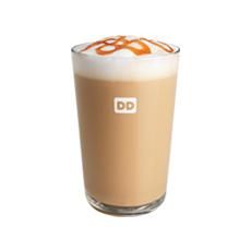 dunkin pumpkin swirl hot latte