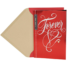 hallmark valentines day card