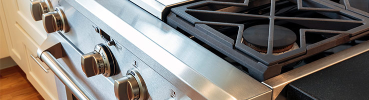 gas oven and range