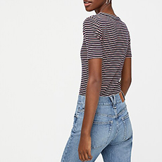 jcrew basic tees
