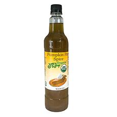 joes organic pumpkin pie spice syrup