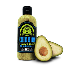 kumana hot avocado sauce