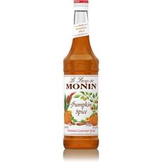 monin pumpkin flavored spice syrup