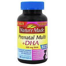 nature made prenatal multivitamin
