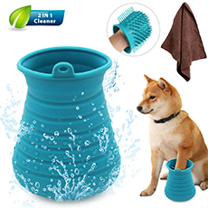 portable paw cleaner cup