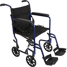 probasics ultralight transport wheelchair