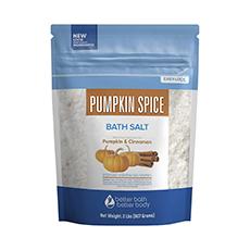 pumpkin spice bath salts