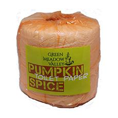 pumpkin infused toilet paper