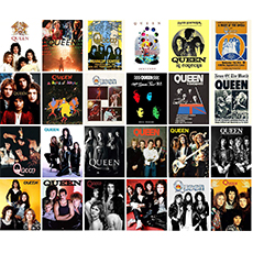 queen large stickers