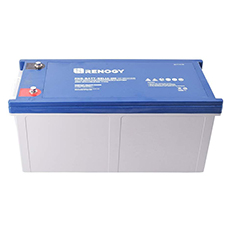 renogy deep cycle gel battery