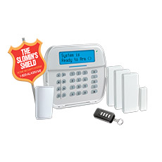 slomins alarm systems LCD control panel