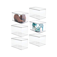 stackable storage bins
