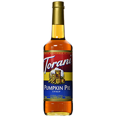 torani pumpkin pie flavored sauce