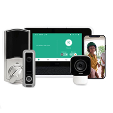 vivint smart home: video monitoring system