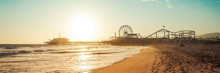 beach on the west coast