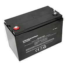 windynation deep cycle agm battery