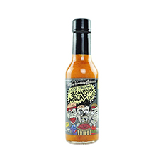 zombie apocalypse ghost chili hot sauce