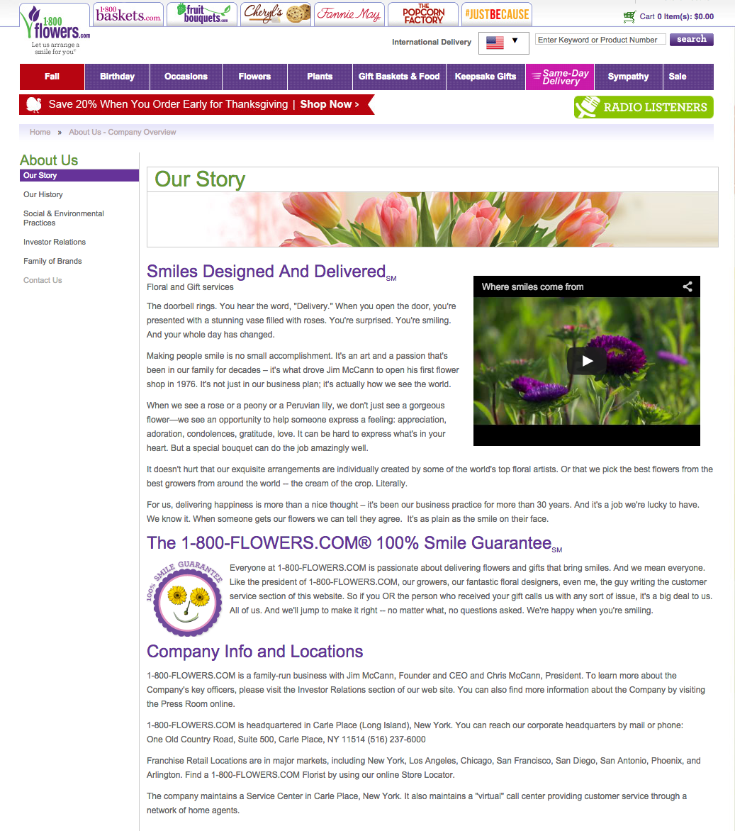 Top 1,600 Complaints and Reviews about 1-800-Flowers.com
