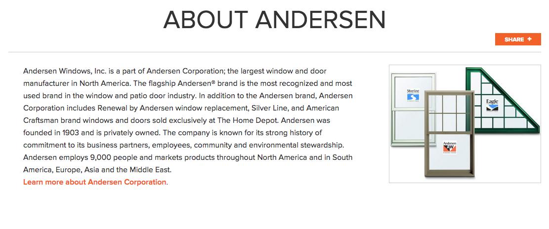 Andersen Windows Images