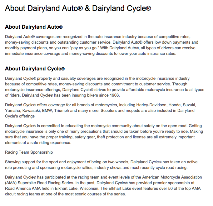 Top 8 Complaints and Reviews about Dairyland Cycle
