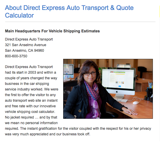 top 4 complaints and reviews about direct express auto transport. Black Bedroom Furniture Sets. Home Design Ideas