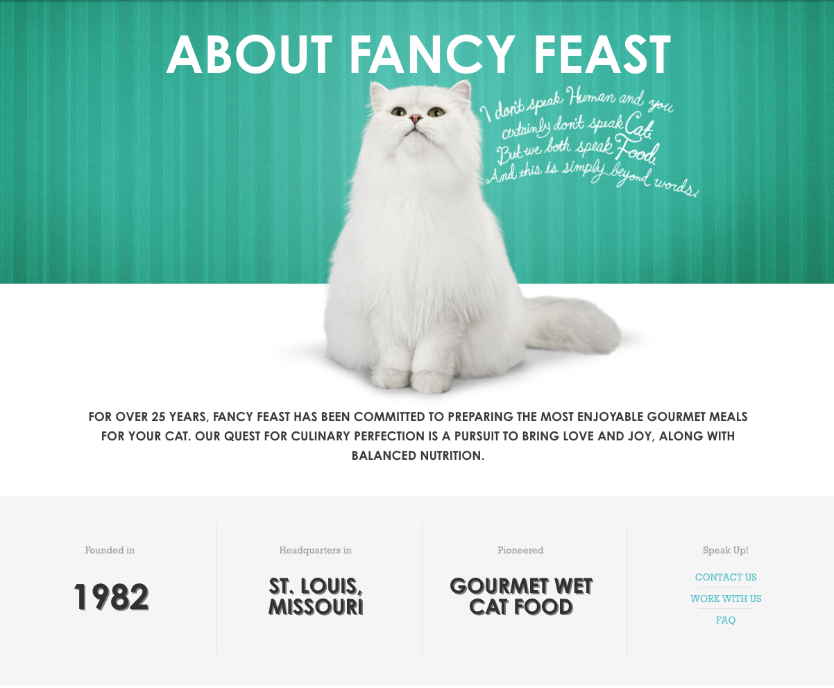 Fancy Cat Food Brands