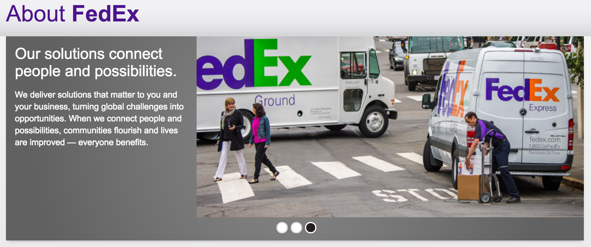 technology delivers at fedex Amazon is reportedly going to start its own delivery service and technology fedex on such a call in march of this year was asked about amazon.