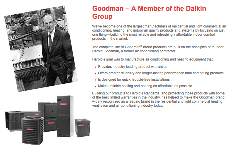 Top 179 Complaints and Reviews about Goodman Manufacturing