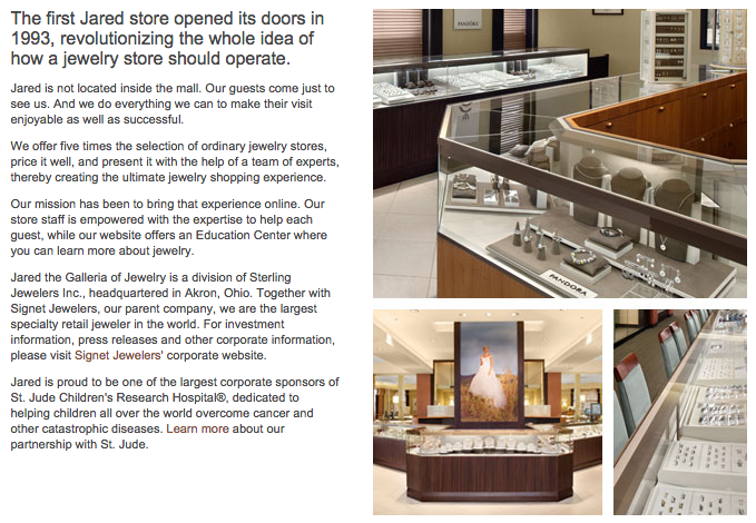 Jared Galleria Of Jewelry Logo Jewelry Ideas