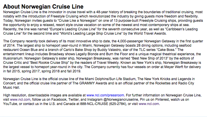 Who To Address Letter Of Complaint Norwegian Cruise Line
