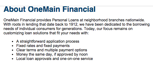onemain financial loan rates