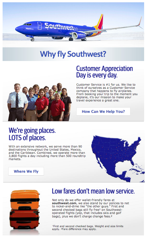 southwest airline 2 essay Southwest airlines success: a case study the strategies of southwest airlines that facilitated it to produce a successful model in airlines industry that.