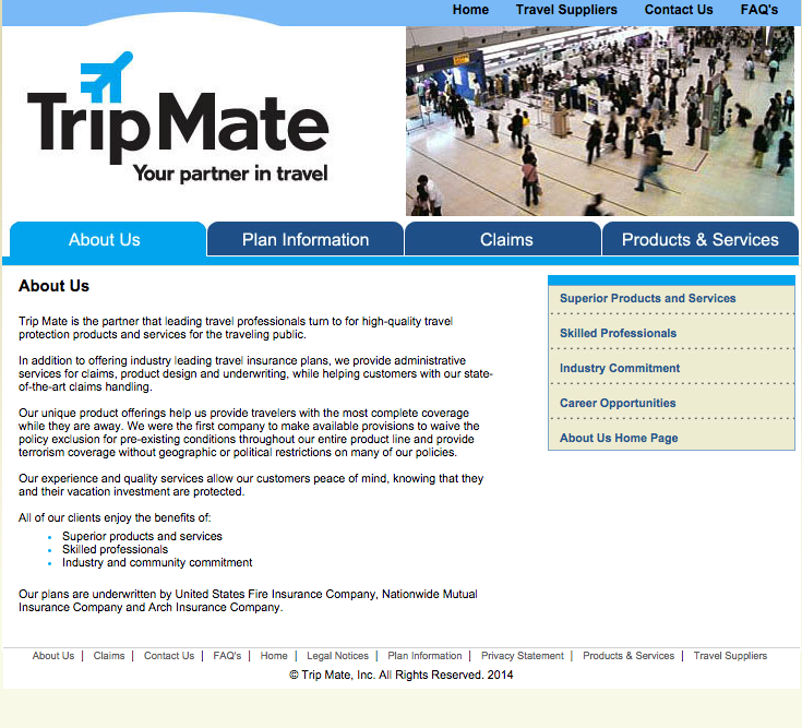 Top 151 Complaints And Reviews About Trip Mate Insurance