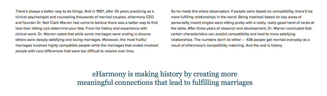 Top       Complaints and Reviews about eHarmony Consumer Affairs eHarmony homepage  About eHarmony