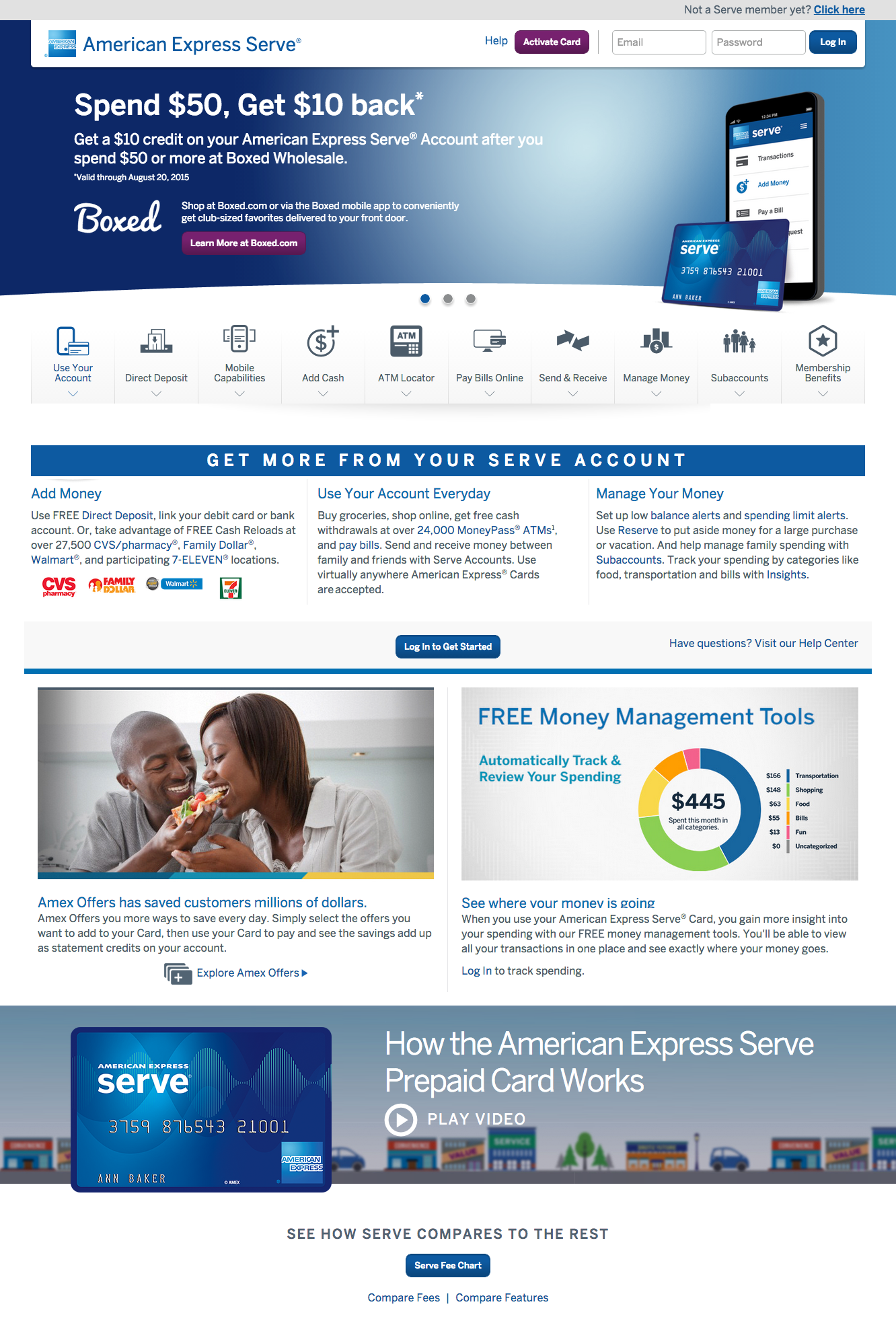 Top 72 Complaints And Reviews About American Express Serve