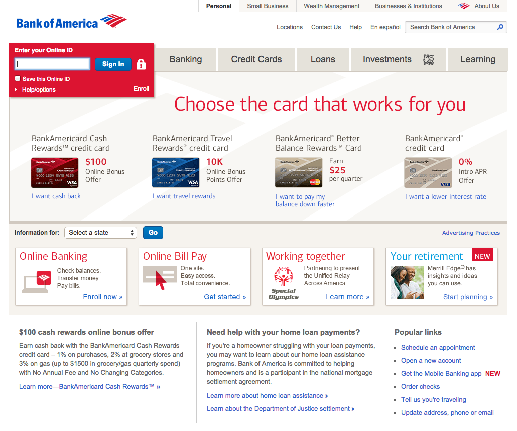 Top 3,513 Reviews And Complaints About Bank Of America