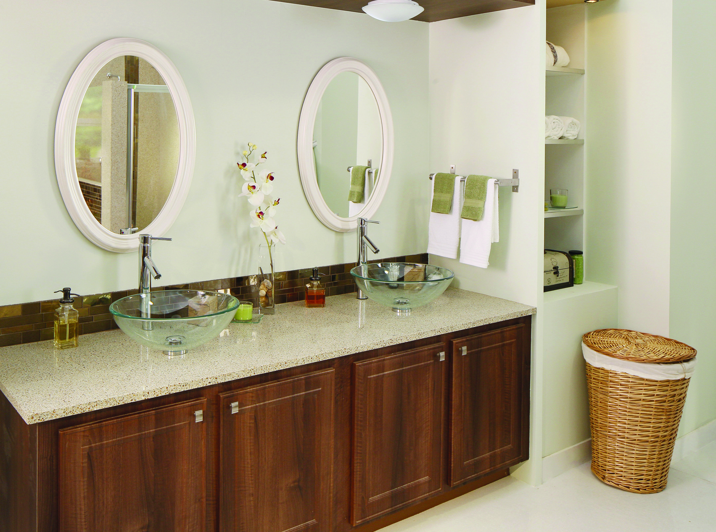 Types of countertops for bathrooms -  Bathroom By Granite Transformations