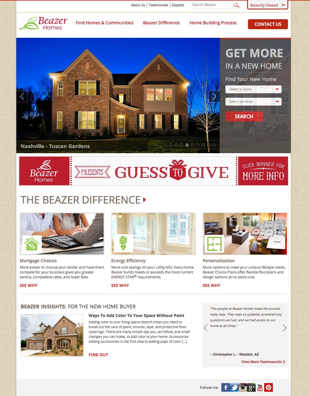 Beazer Homes Design Center