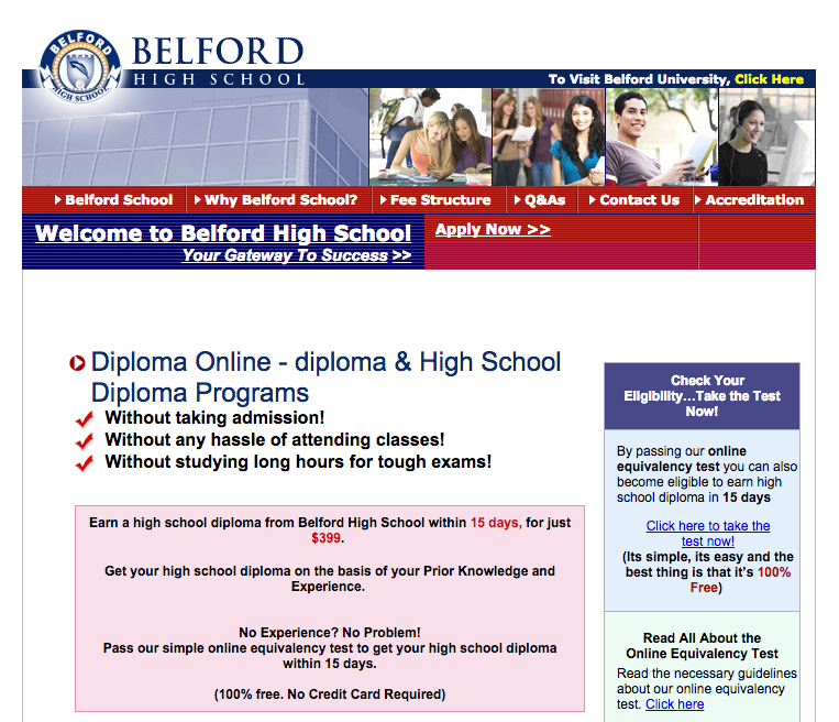 Looking for ways to get your GED or high school diploma online that are not scams.?
