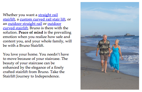 bruno homepage about bruno bruno stairlift options