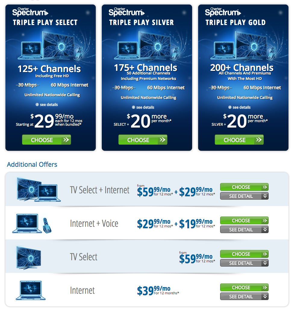 Charter Cable Packages >> Top 2,024 Reviews and Complaints about Charter Communications