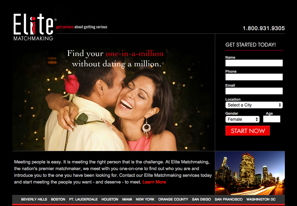 Elite matchmaking san diego reviews