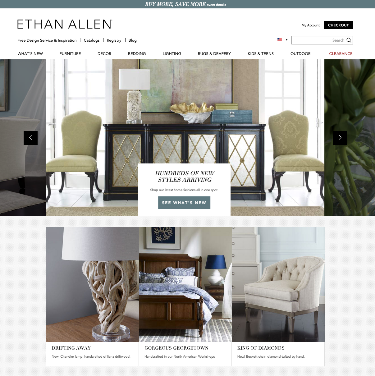 Ethan Allen Furniture ~ Top reviews and complaints about ethan allen