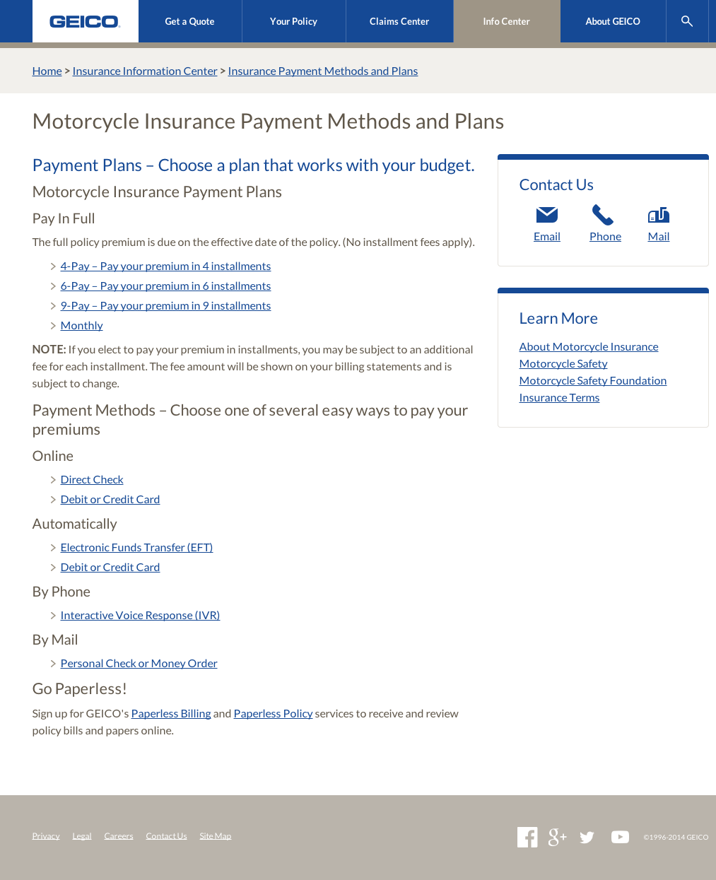 Car insurance payment calculator geico monthly 16
