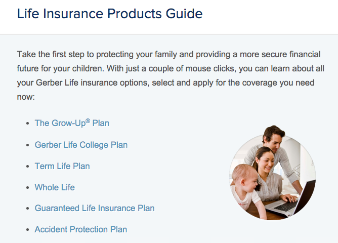 Gerber Life Insurance Scams