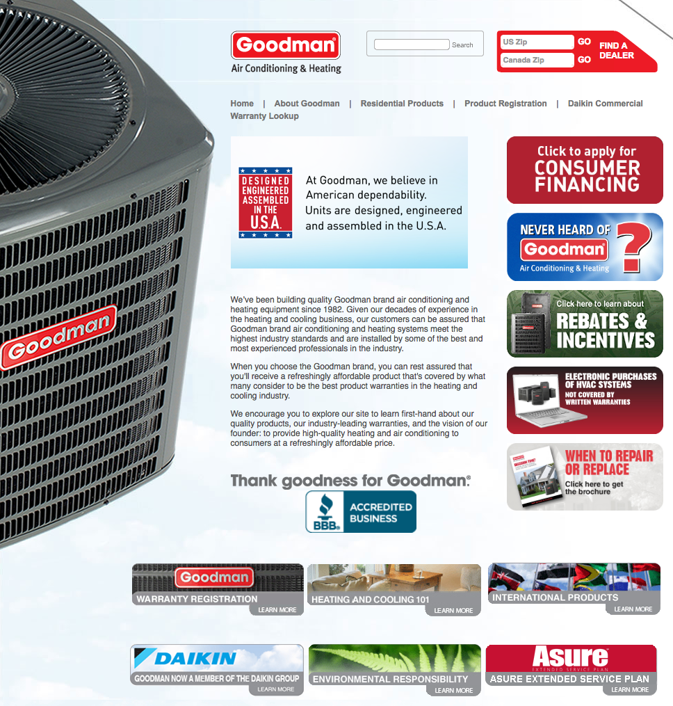 Average cost of new furnace and ac for home - Goodman Manufacturing Images